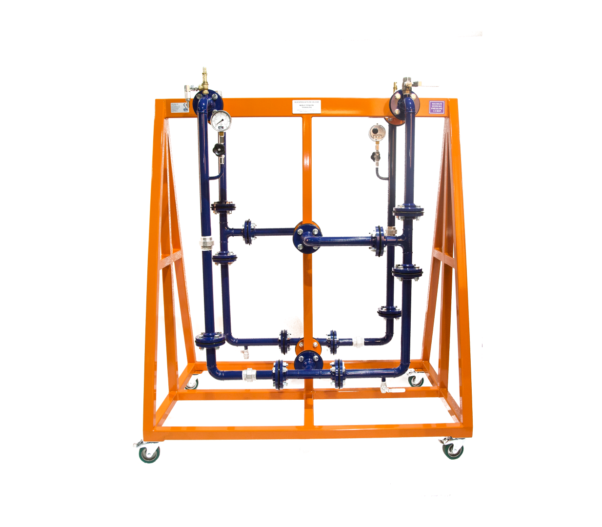 Mobile Pipework Rig